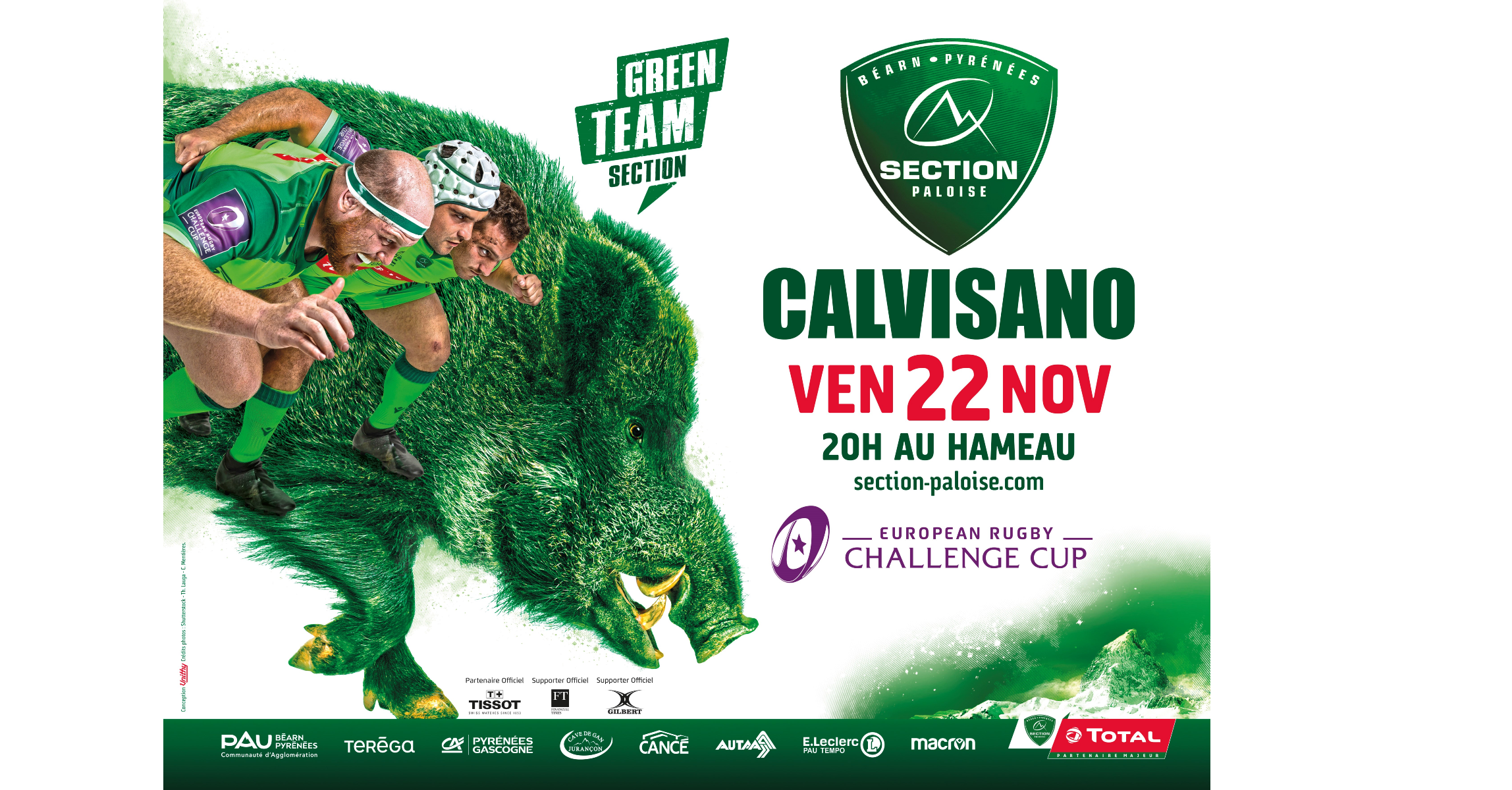 LA REP / COM / SECTION - CALVISANO