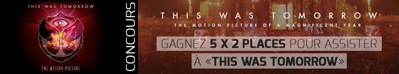 Gagnez 5x2 places pour assister à La première mondiale de 'This Was Tomorrow Le Soir - 23l11 M034375_Banner_810_Tomorrow