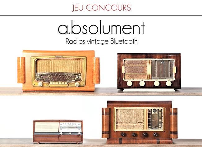 4 radios vintage bluetooth A E06ED6F5-057A-E90A-48454229FDFF24C4