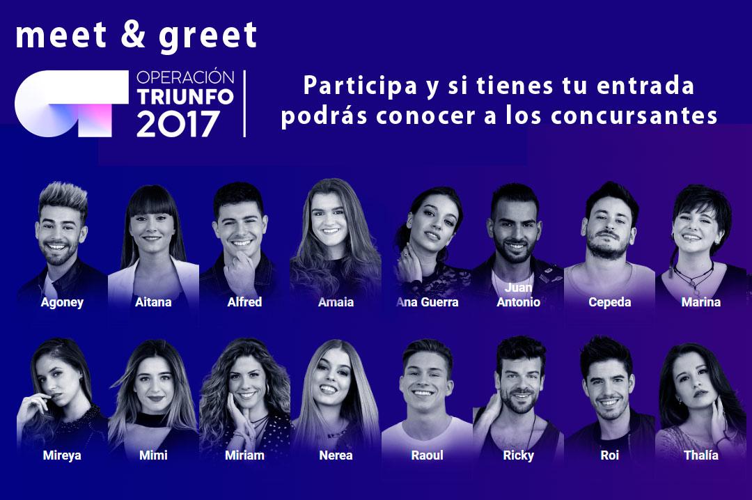 Meet&Greet Operación Triunfo