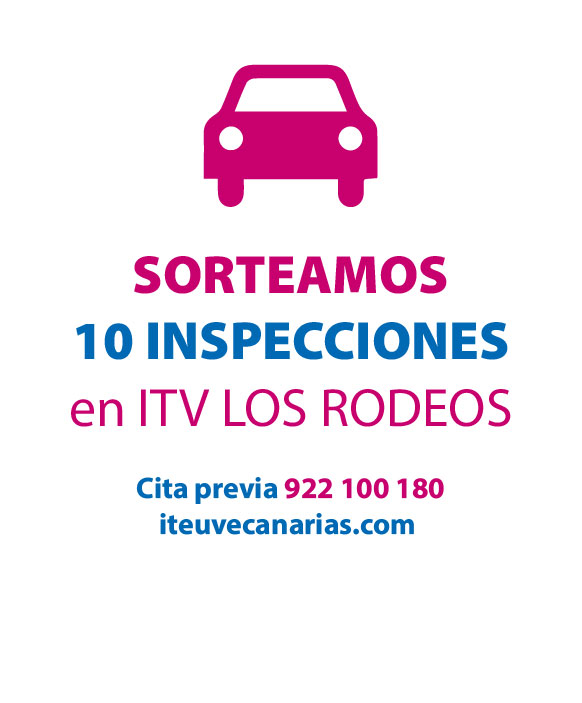 Sorteo: 8 inspecciones gratis en ITV Los Rodeos - Blog El blog de laopinion.es