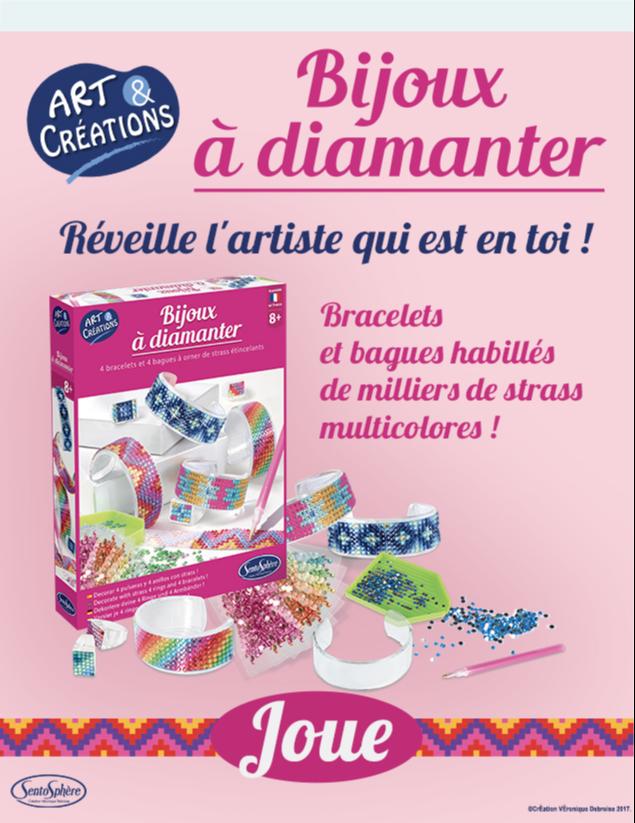 "5 jeux ""Kit bijoux à diamanter"" FA9CEB39-9291-017A-4CDFB70B037EF244"