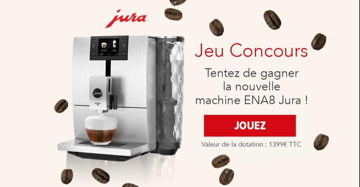 Jeu Concours JURA - Êtes-vous un incollable sur le café?