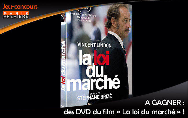 des dvd du film la loi du march gagner. Black Bedroom Furniture Sets. Home Design Ideas